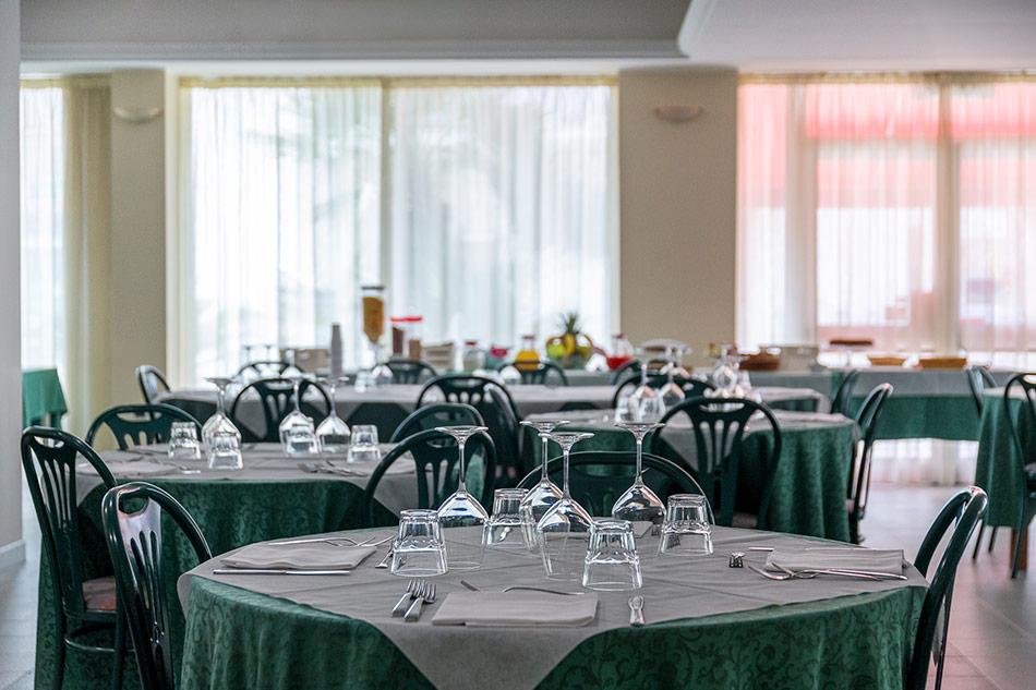 Hotel Mediterraneo Ristorante Sala ristorante