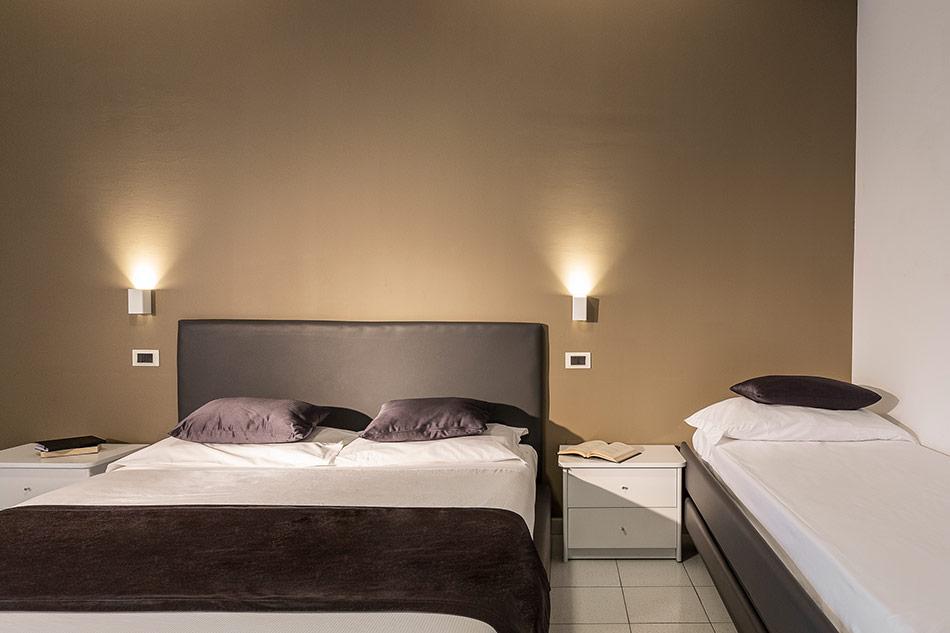 Hotel Mediterraneo Superior Tripla Quadrupla Letto